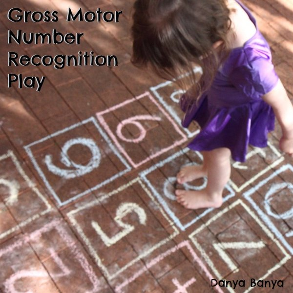 Gross Motor Number Recognition Game