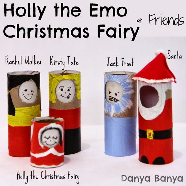Holly the Emo Christmas Fairy & Friends