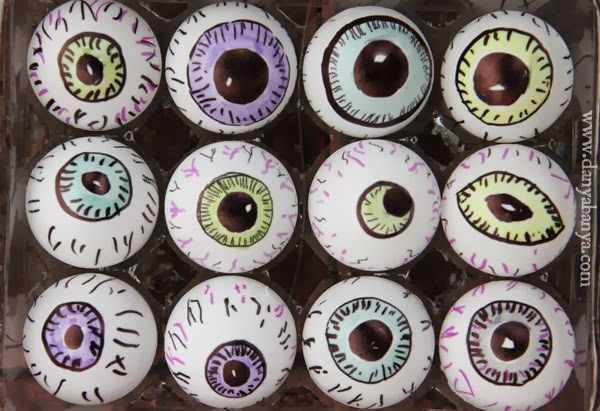 DIY eyeballs