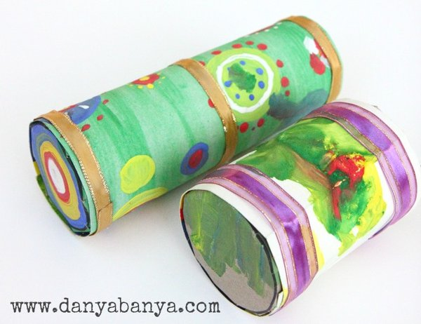 DIY Rain Sticks for Toddlers