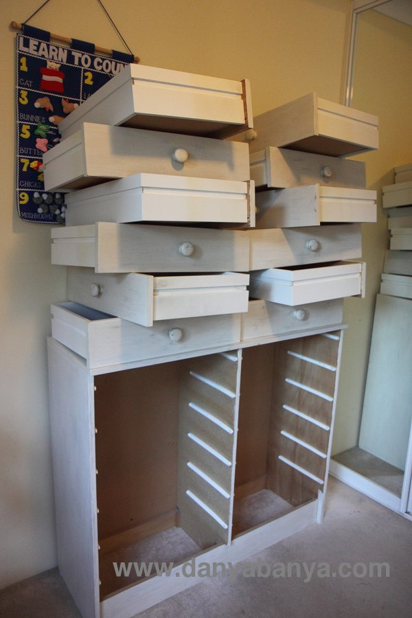 Build A Cardboard Chest Of Drawers