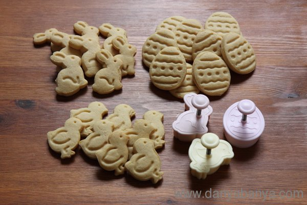 Yummy Easter cookies - recipe included