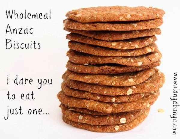 Wholemeal Anzac Biscuits