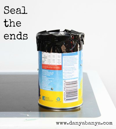 seal the ends