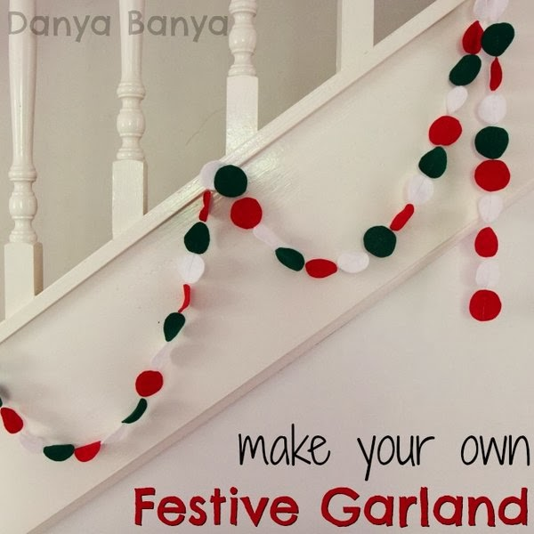 Make your own Festive Garland