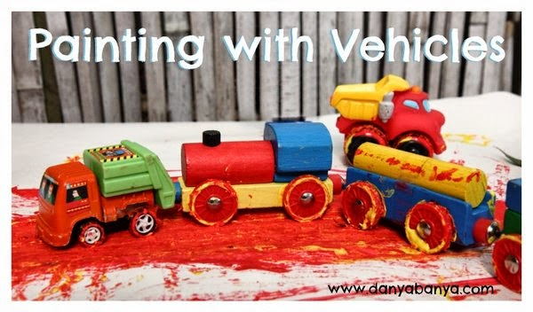 Painting with Vehicles