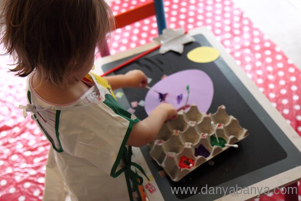 Painting with both hands