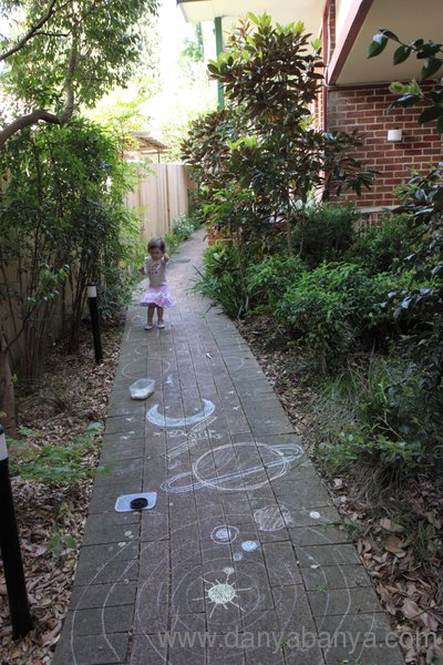 Chalk drawings fun